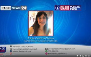 Intervista Integrale a Paola Cristina Chiesa di Milano Psicomotricità del 7 giugno 2020 su radionews24