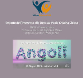 Estratto intervista su Angoli Espansione TV 18 giugno 2021 – 1 di 3