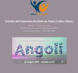 Estratto intervista su Angoli Espansione TV 18 giugno 2021 – 3 di 3